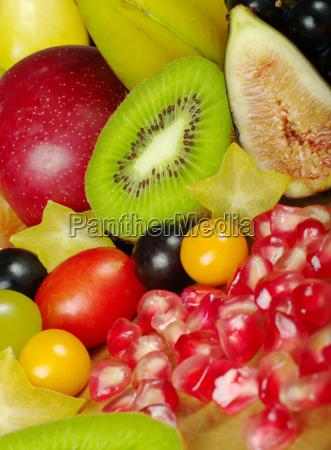 exotic, fruit, mix - 3028410