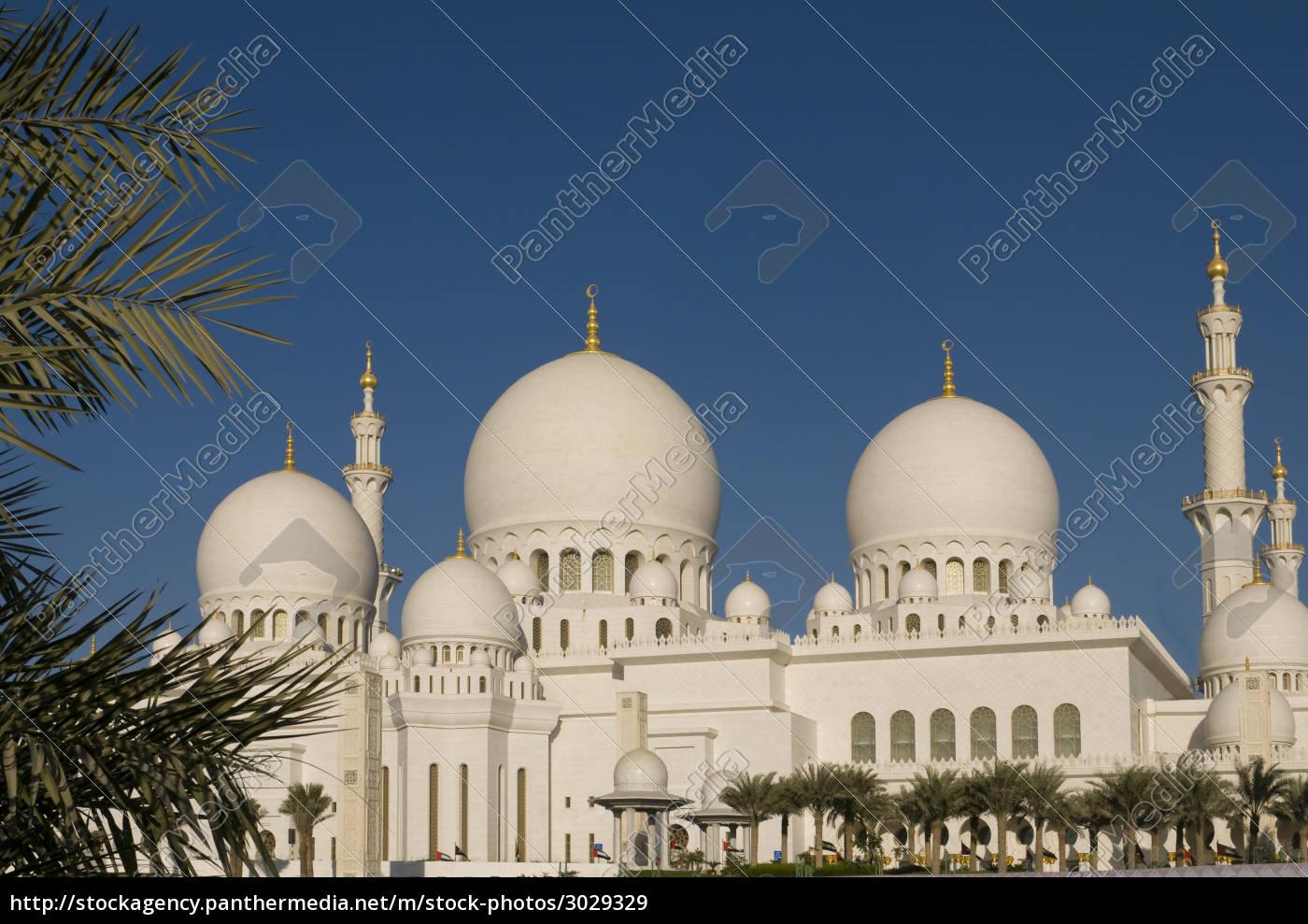 mosque, abu, dhabi, uae - 3029329