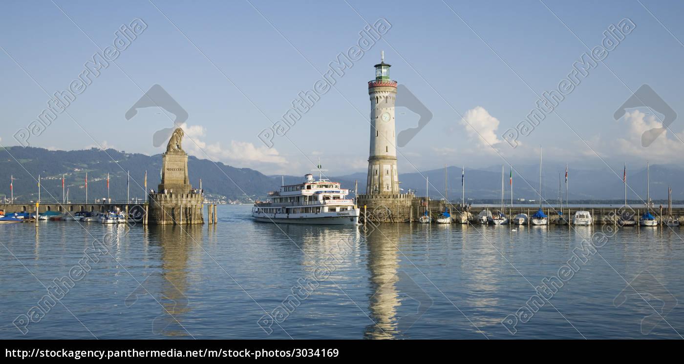 in, the, port, of, lindau, at - 3034169
