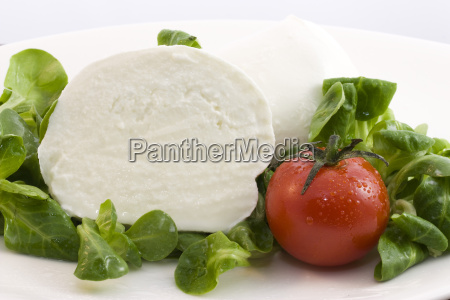 mozzarella, bufala, and, salad - 3038385