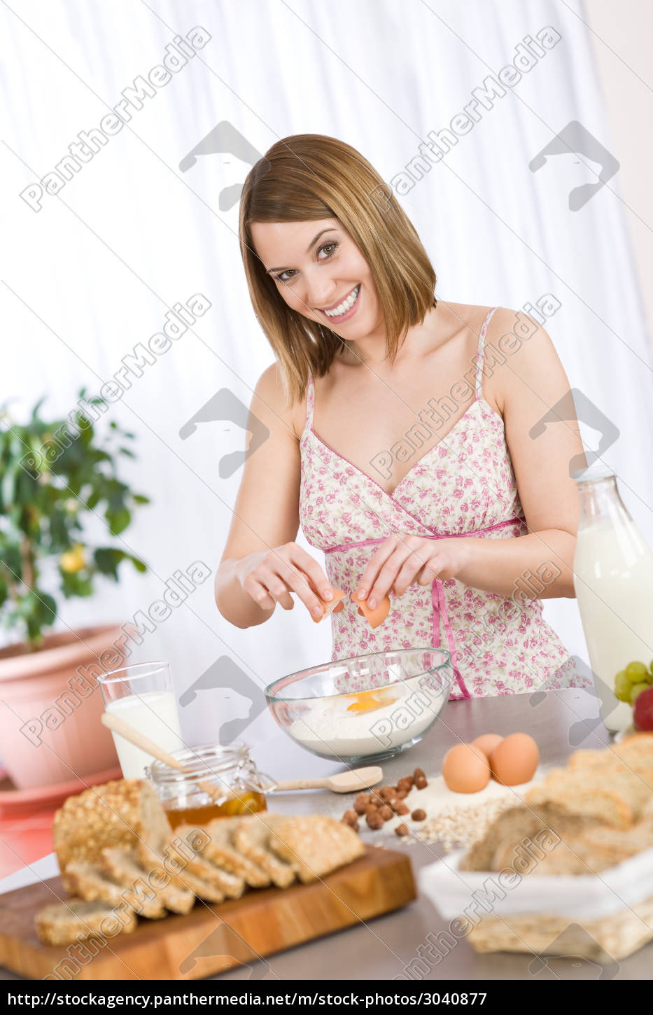 baking, -, , woman, with, healthy - 3040877