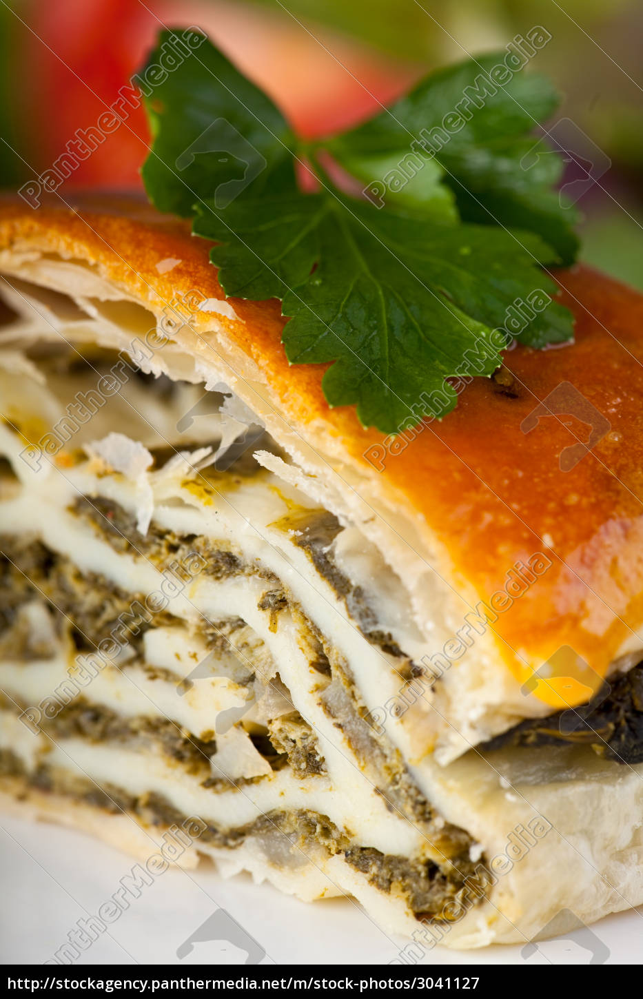 spinach, strudel, with, parsley - 3041127