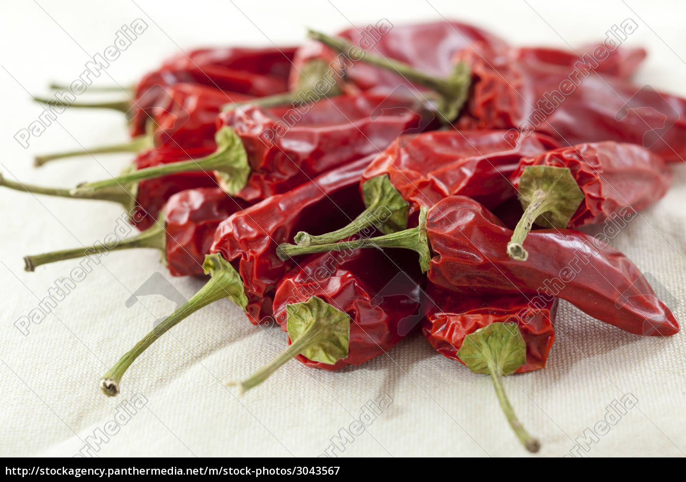 dried, red, chillies - 3043567