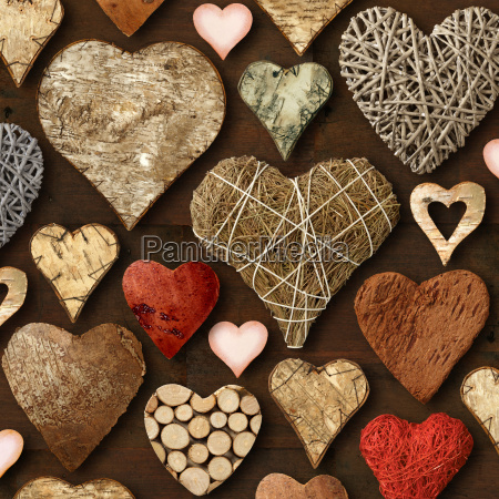 heart, shaped, wooden, things - 3045611