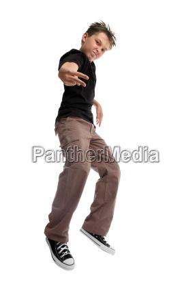 jumping, boy, youth, attitude - 3045889