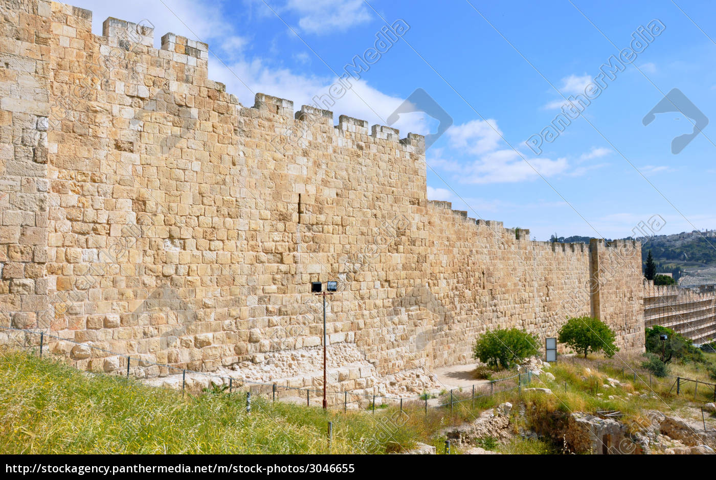 jerusalem, old, city, walls - 3046655