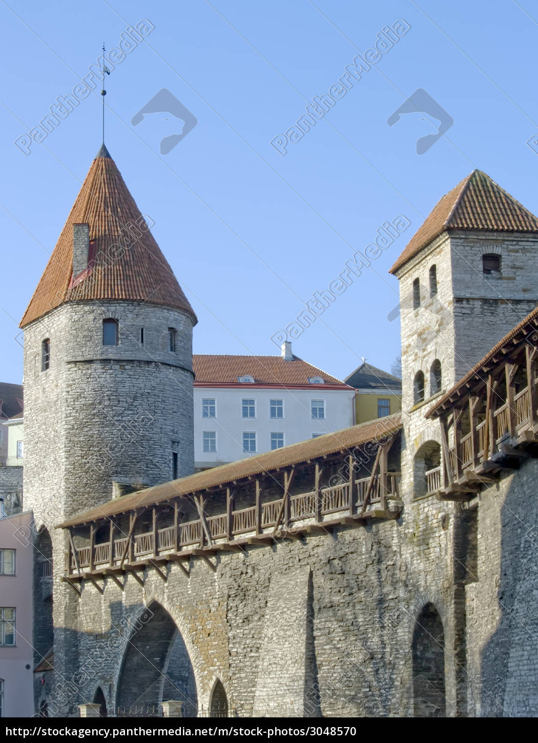medieval, fortification, , and, towers - 3048570