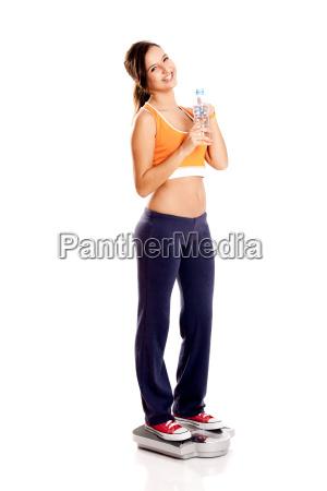 athletic, girl, - 3053030