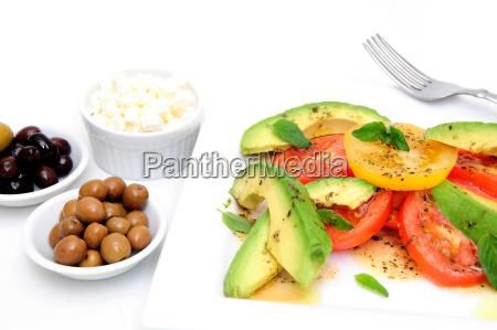 avocado, salad, and, olives - 3053912