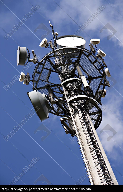 mobilfunkmast, with, different, antennas - 3056907