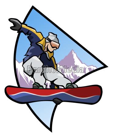 snowboard logo colors