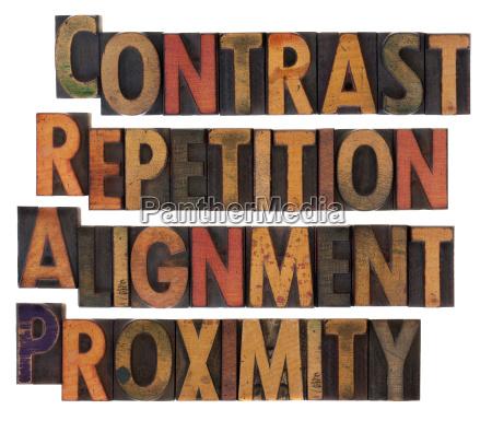 typography of design principles crap
