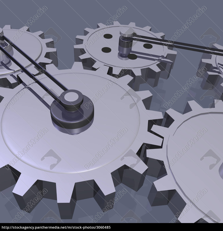 3d, gears - 3060485