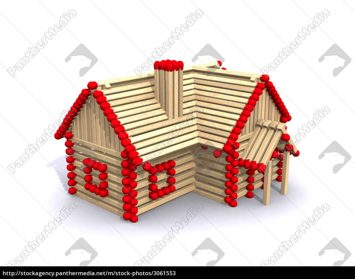 house, made, of, matches - 3061553