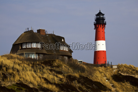 lighthouse in hoernum