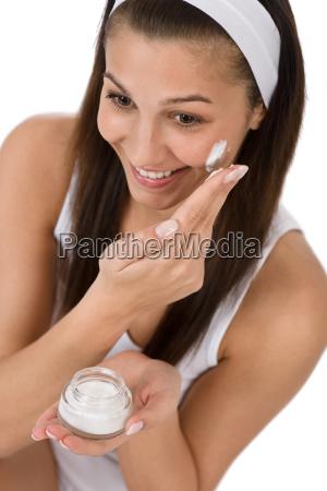 beauty, facial, care, -, young, woman - 3064551