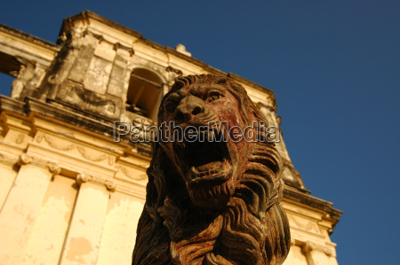 lion, outside, cathedral - 3064523