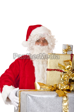 santa, claus, with, christmas, gifts - 3075691
