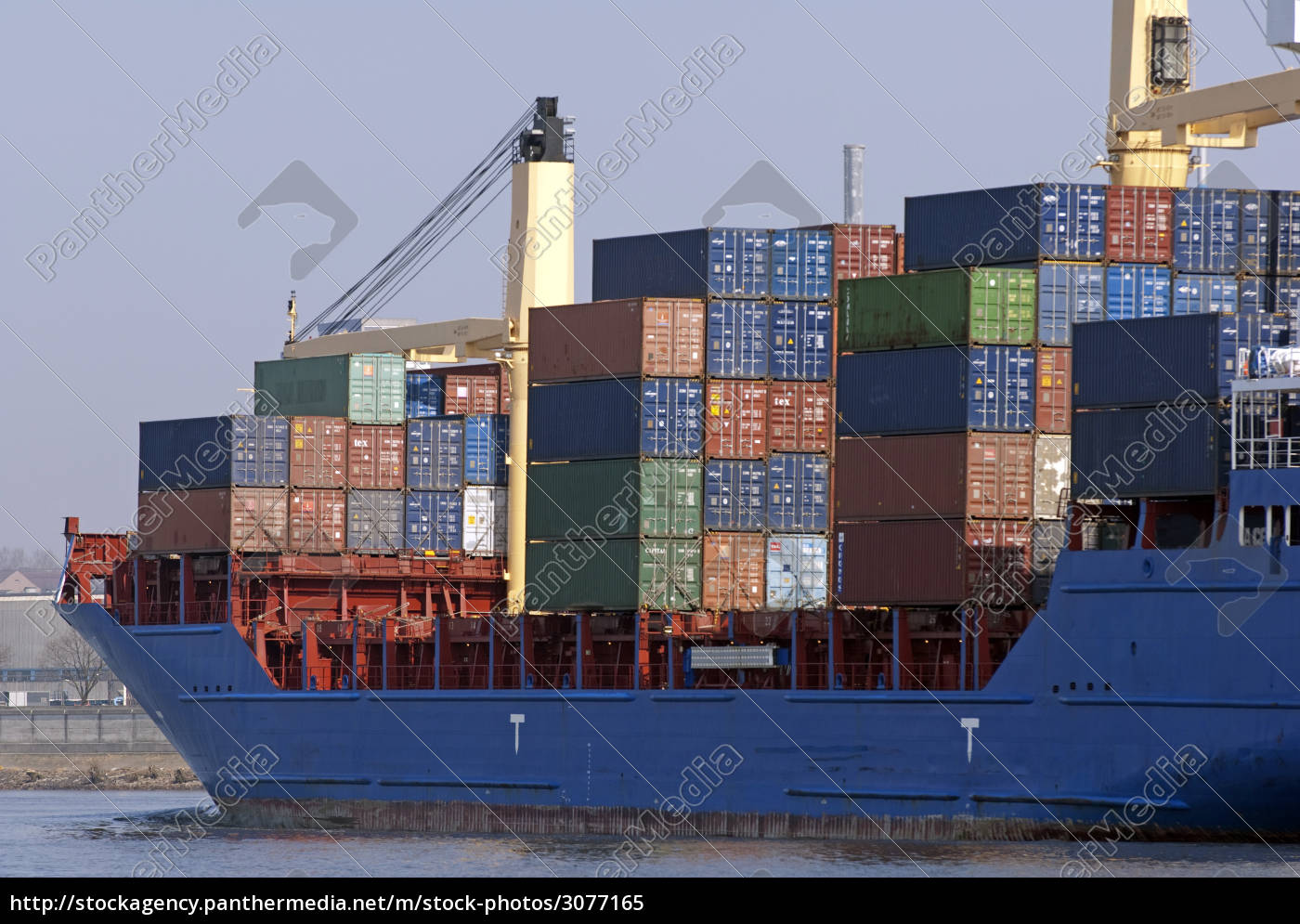 container, ship, in, the, port, of - 3077165