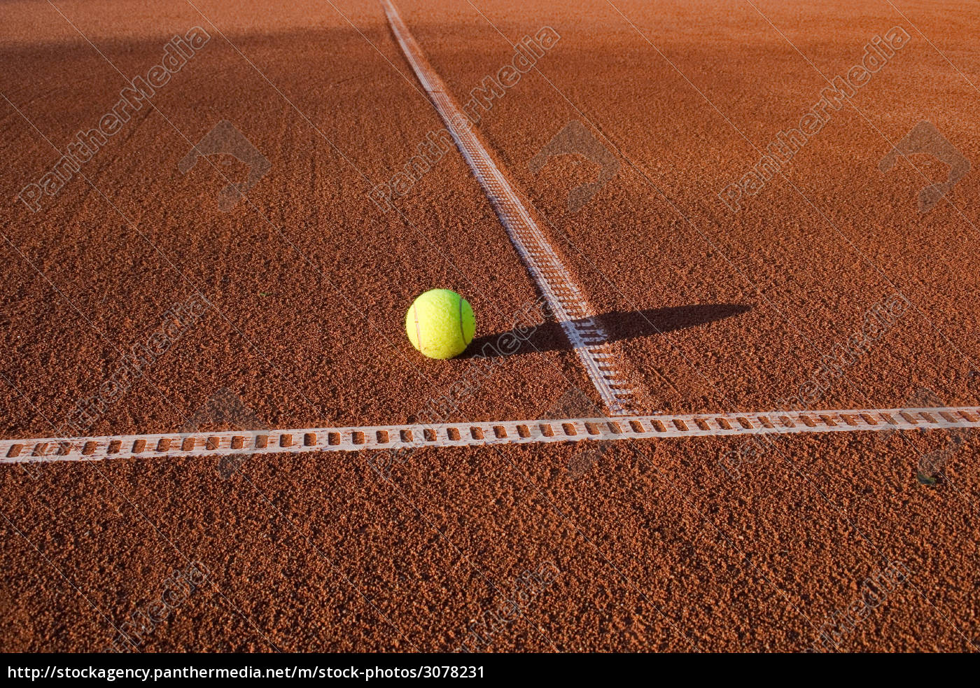 tennis, court, with, ball - 3078231