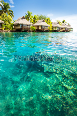 over, water, bungalows, with, steps - 3083227