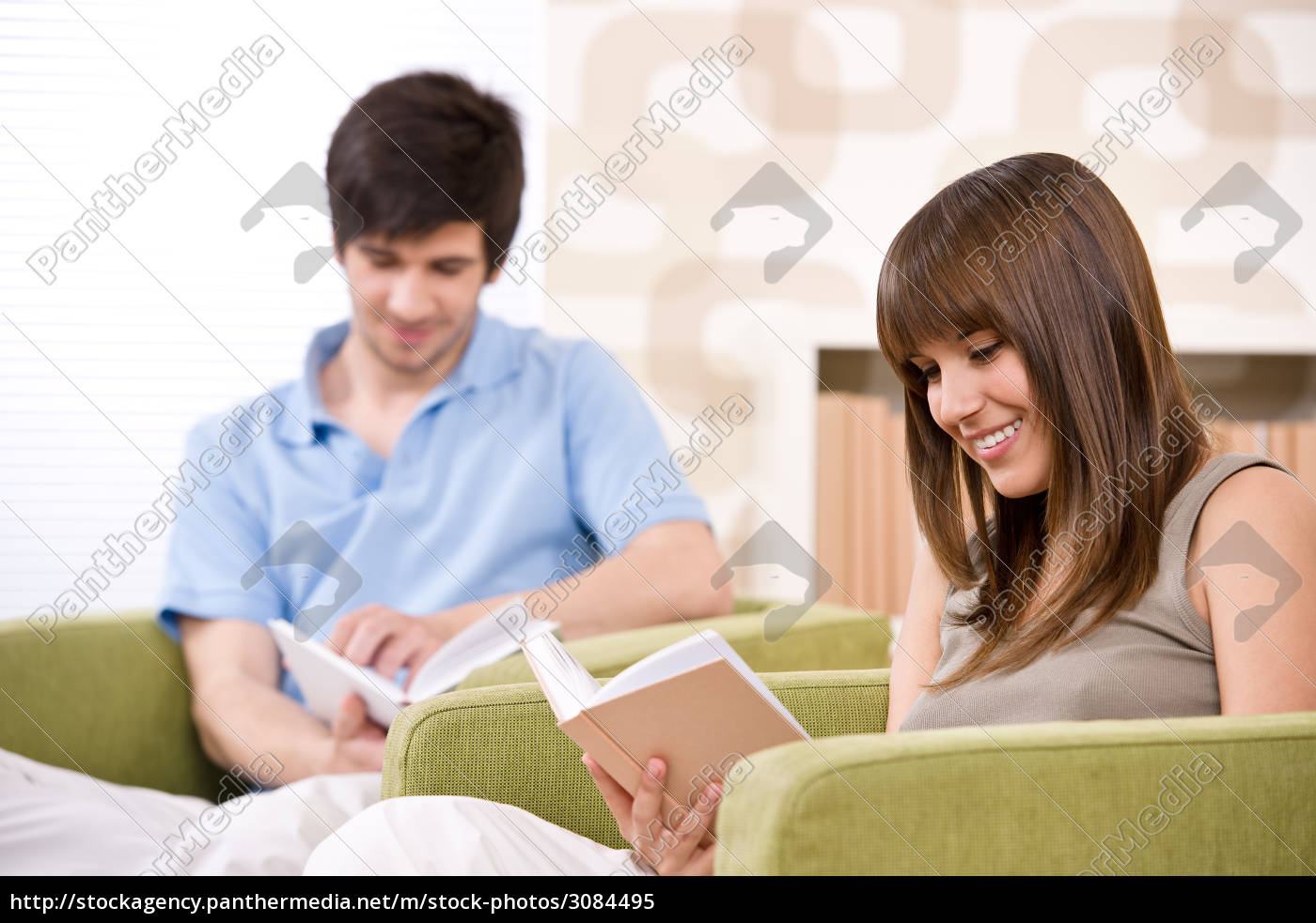student, -, two, teenager, reading, book - 3084495