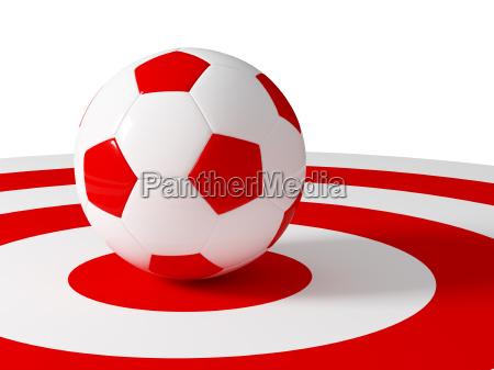 soccer ball target
