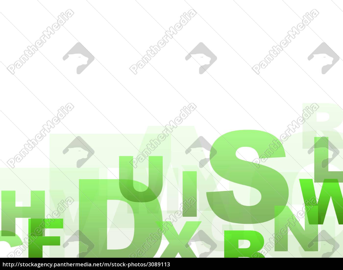 background, letter, green - 3089113