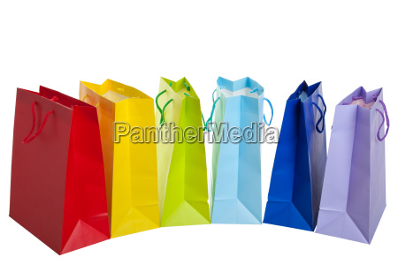 rainbow, shopping, bags - 3090311