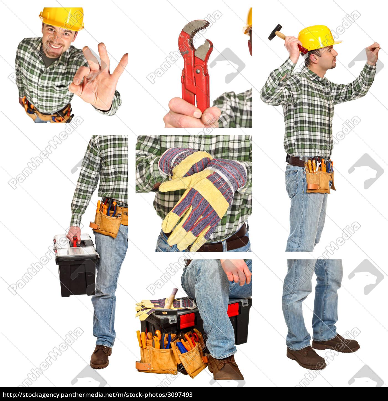 detail, of, manual, worker - 3097493