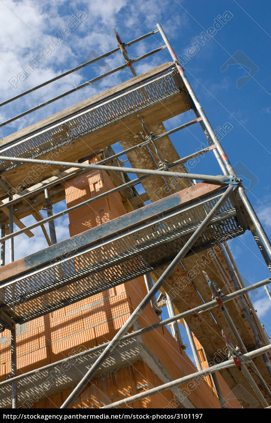 construction, site, scaffold - 3101197