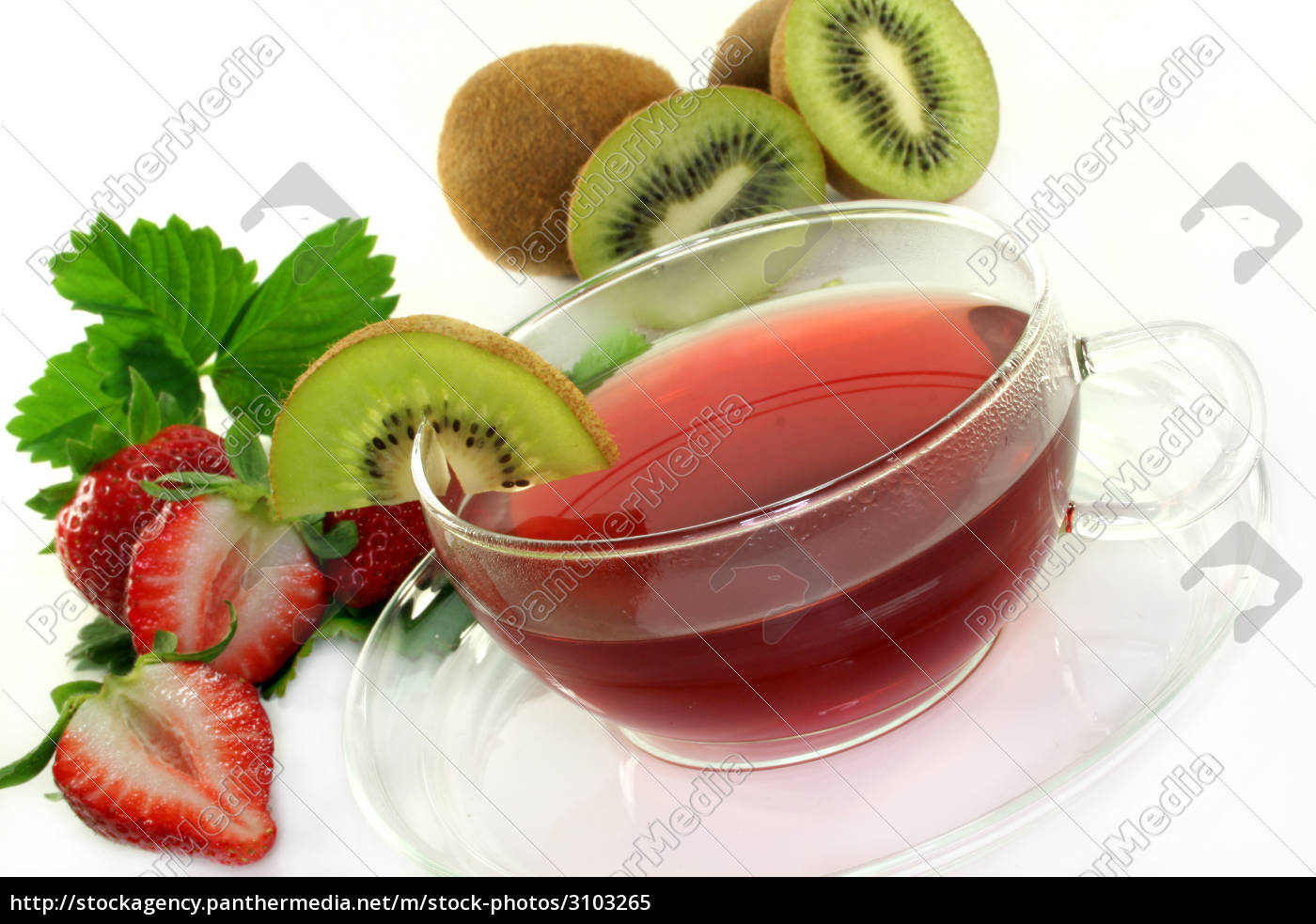 strawberry, kiwi, tea - 3103265