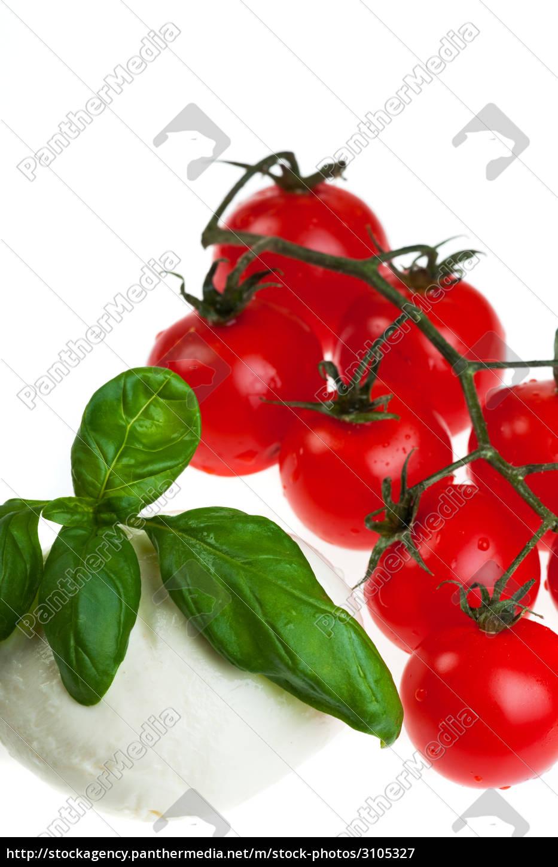 mozzarella, and, tomatoes - 3105327