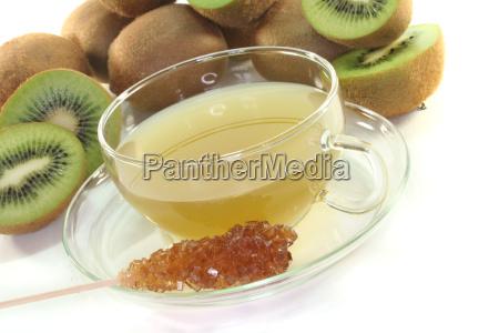 kiwi tea