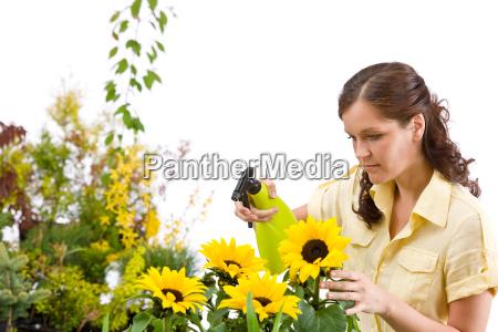 woman, flower, plant, bloom, blossom, flourish - 3110549