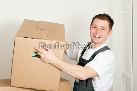 movers, when, moving, lifts, moving, box - 3111785