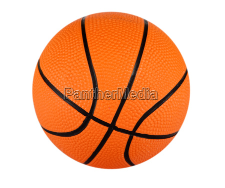 basketball with clipping path