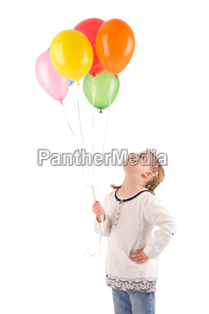 child, with, balloons - 3119473