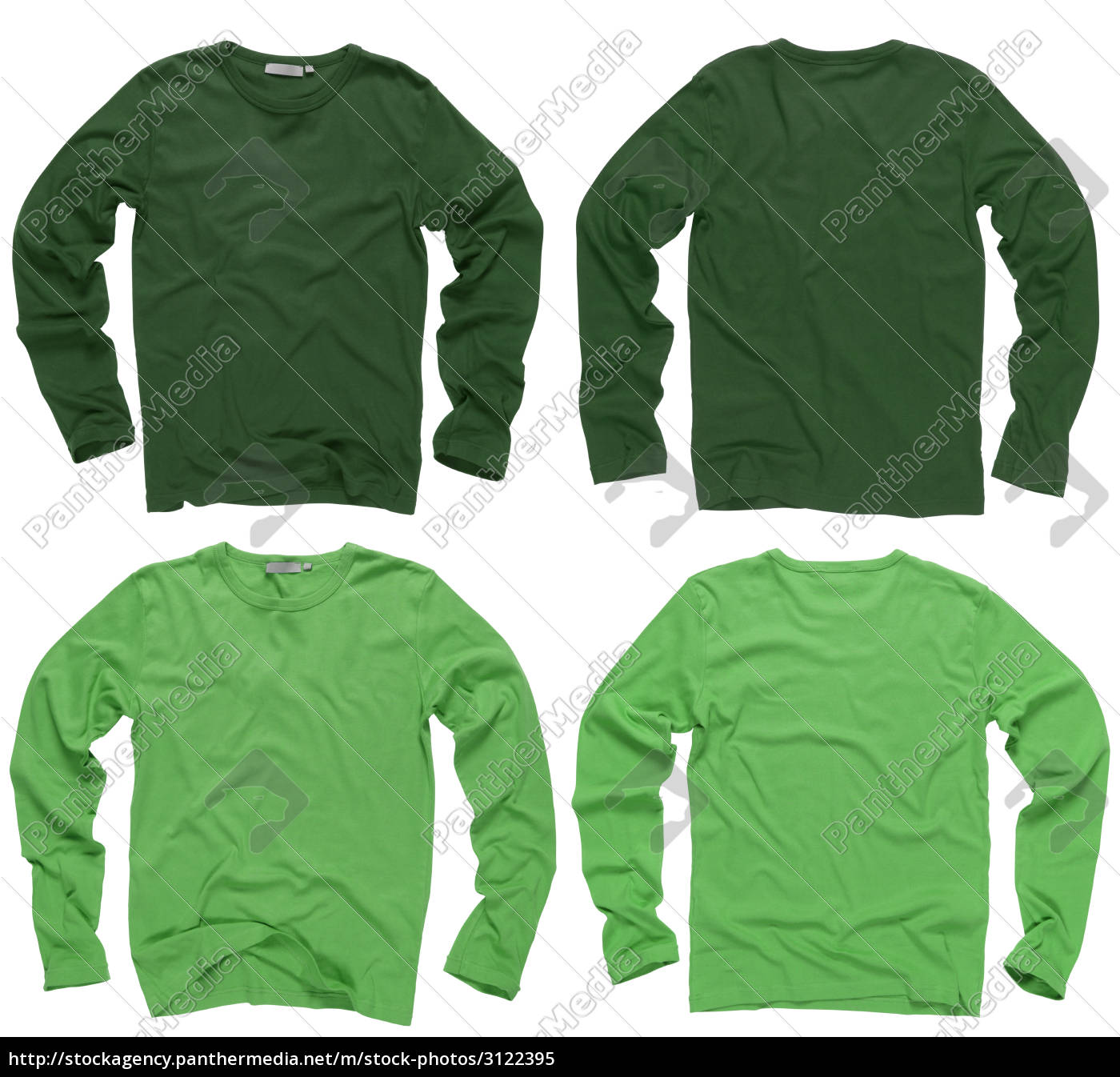 blank, green, long, sleeve, shirts - 3122395