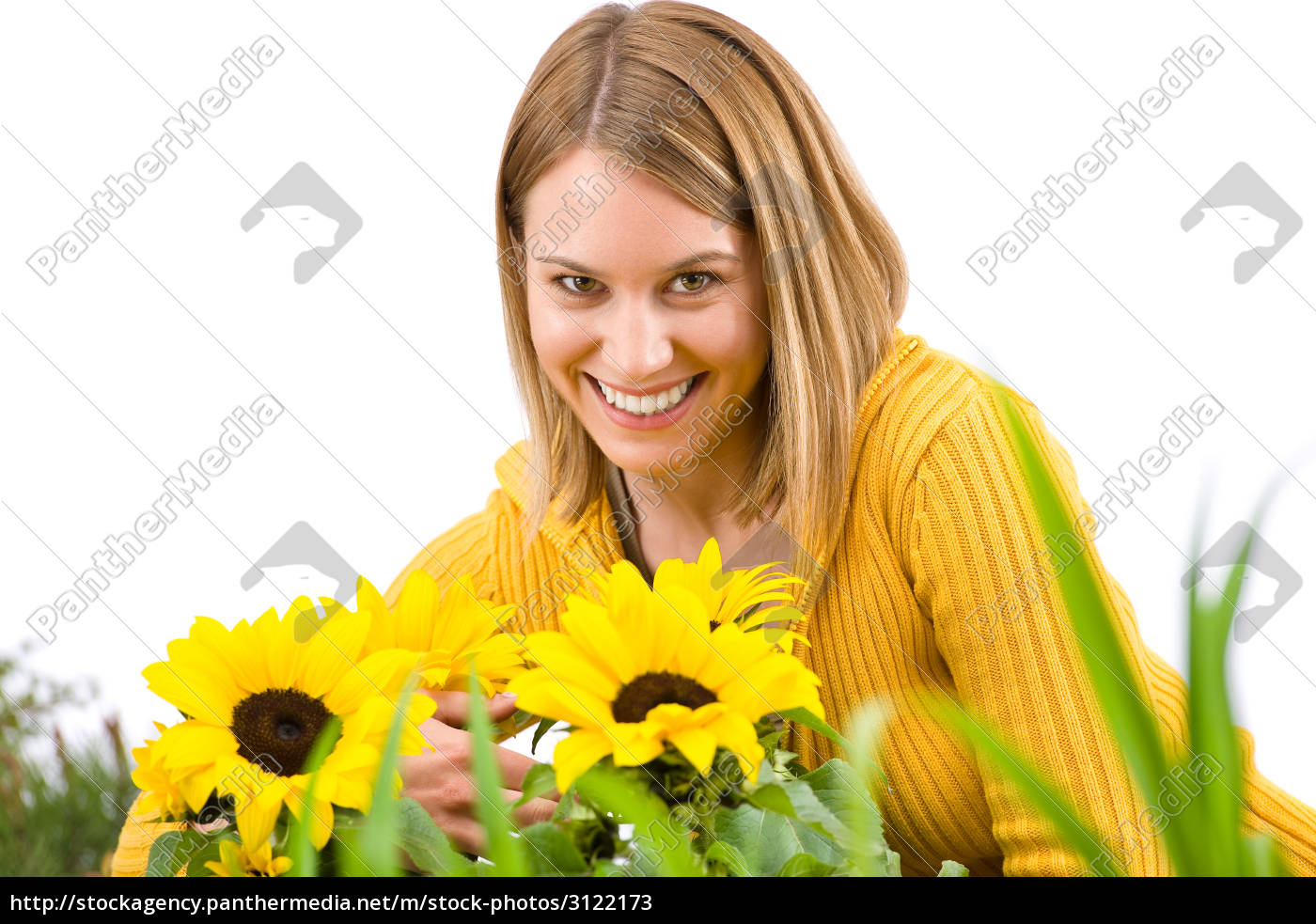 gardening, -, portrait, of, smiling, woman - 3122173