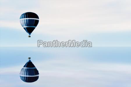 the, blue, balloon - 3125615