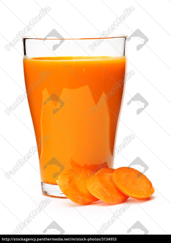 carrot, juice, in, glass - 3134953