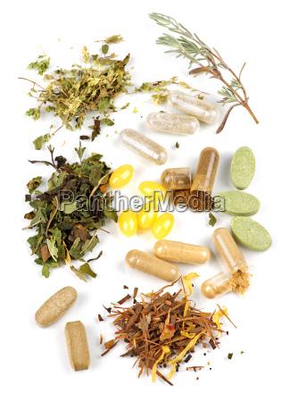 herbal, supplement, pills - 3135045