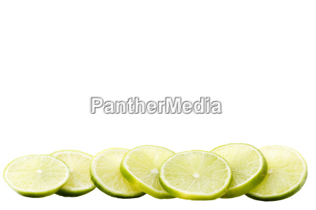 a, row, lime, slices - 3143891