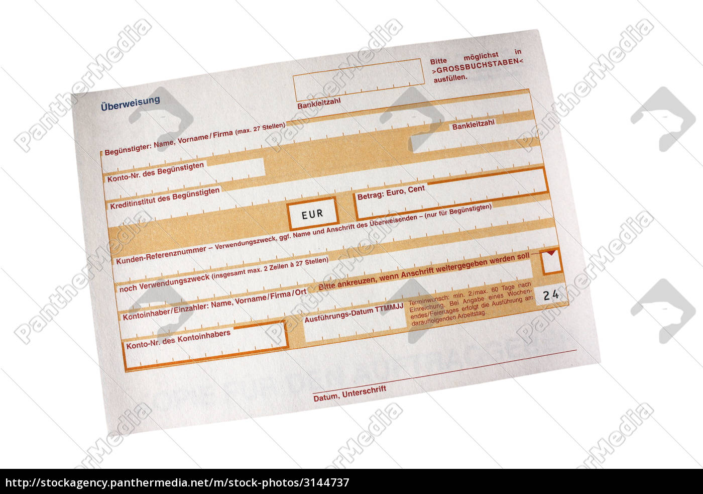 bank, lending institution, transferal, form, printed form, savings bank - 3144737