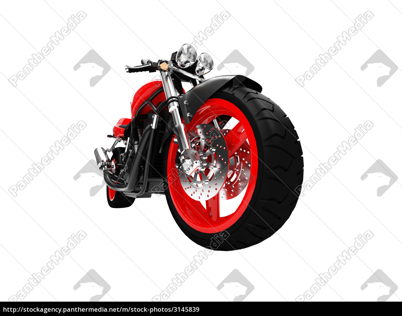 isolated, motorcycle - 3145839