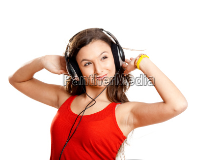 young, girl, listen, music - 3145175