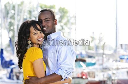 happy, couple, embracing - 3146137