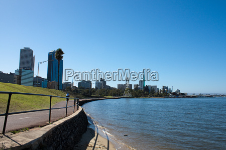 perth bike path
