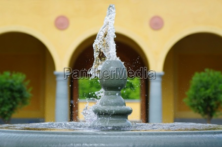 water play a fountain
